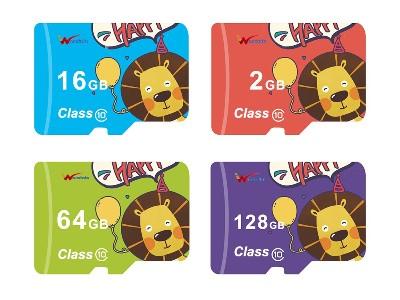 彩色高端订制商标 TF卡